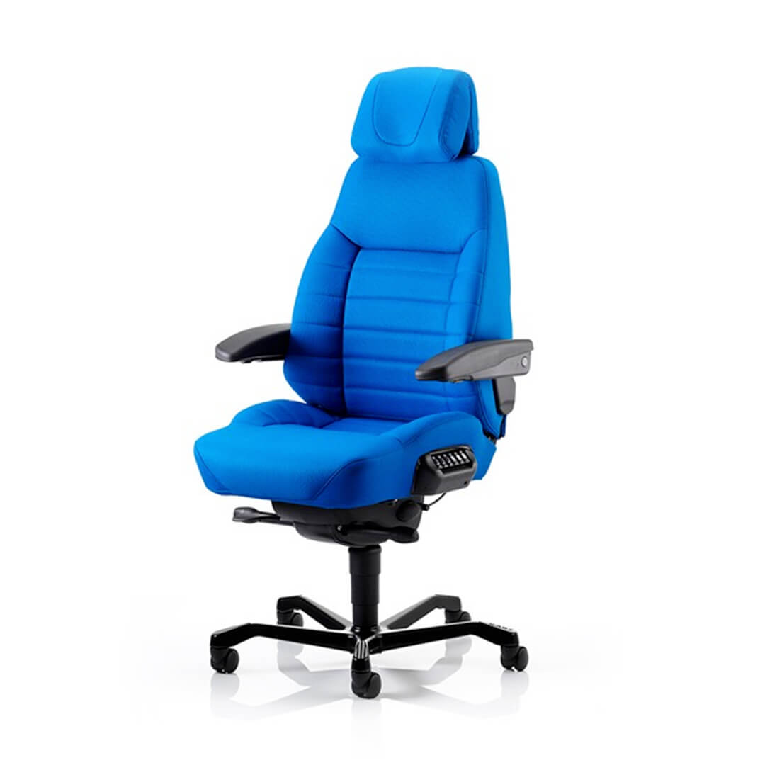 Categories Heavy Duty Chairs ...  sc 1 st  Australiau0027s Ergonomic Office Chairs & KAB ACS Executive 24 Hour Chair in Cloth | The Chairman