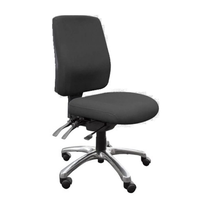 Delta Task Chair Black - No Arms