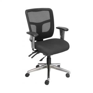 Office Chairs Australia | Ultimate Mesh MB with Chrome Arms and Base