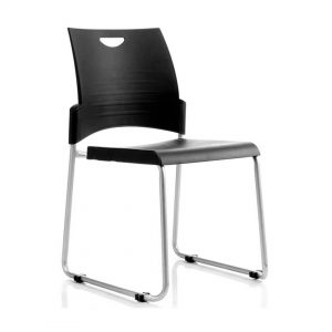 Office Chairs Australia | Buro Pronto Skid Base Stackable Chair
