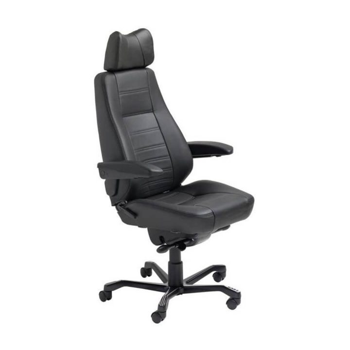 Office Chairs Australia | Kab Controller 24-hour Chair Leather