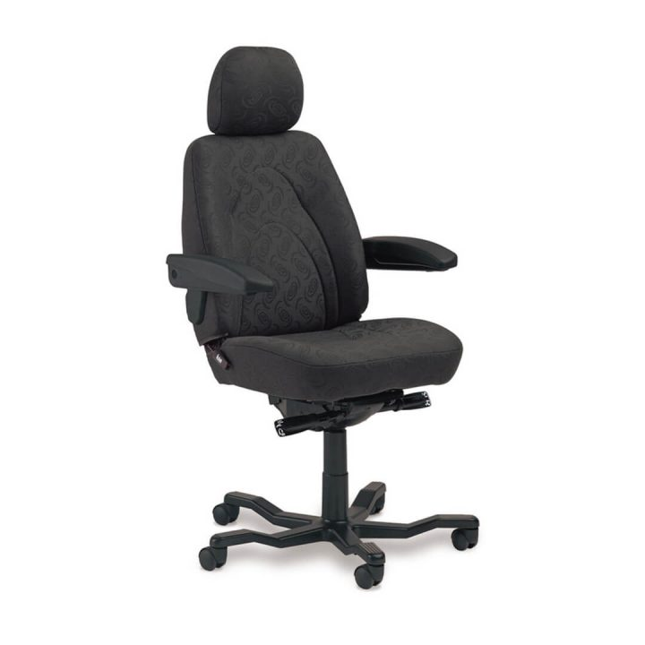 Office Chairs Australia | KAB Manager 24-hour Chair in Cloth