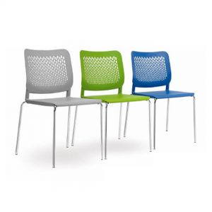 Office Chairs Australia | Morika 4 Leg Stackable Chair