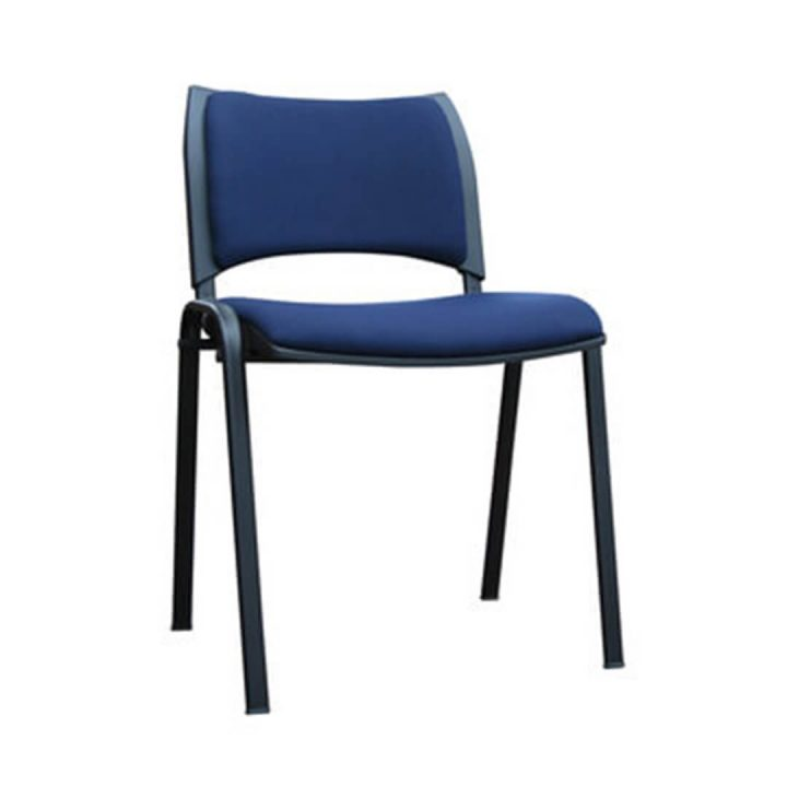 Office Chairs Australia | Smart Stackable Chair Blue