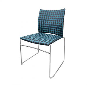Office Chairs Australia | Uno Upholstered Stackable Chair